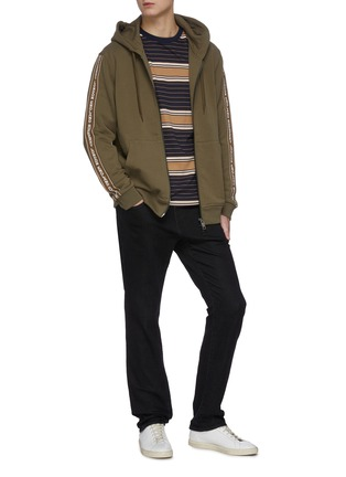 Figure View - Click To Enlarge - J BRAND - 'Kane' dark wash straight leg jeans