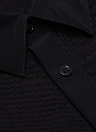 - THEORY - Pima cotton blend polo shirt