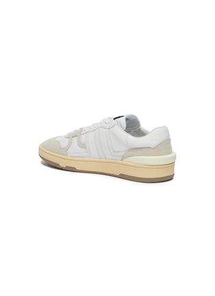 - LANVIN - Suede panel low top tennis sneakers