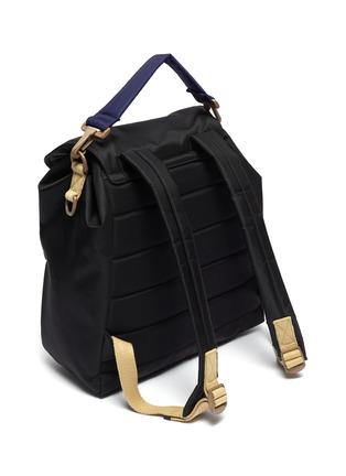 Detail View - Click To Enlarge - LANVIN - Duvet' nylon backpack