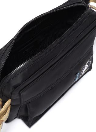 Detail View - Click To Enlarge - LANVIN - Duvet' nylon bum bag