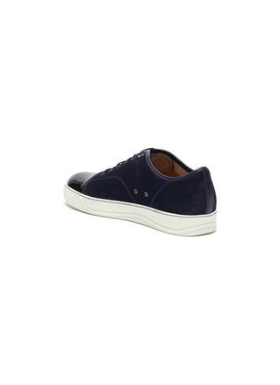 - LANVIN - Suede leather low top sneakers