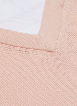 - ALEXANDERWANG.T - Bi-layer wool knit sweater