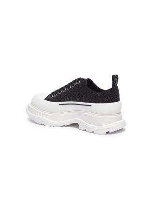 - ALEXANDER MCQUEEN - 'Tread Slick' glitter low-top sneakers