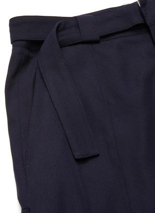 - FFIXXED STUDIOS - Adjustable belt loose fit crop pants