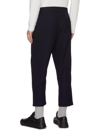 Back View - Click To Enlarge - FFIXXED STUDIOS - Adjustable belt loose fit crop pants
