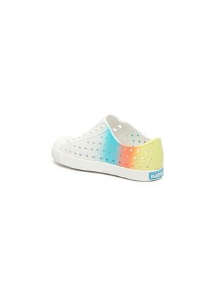 Detail View - Click To Enlarge - NATIVE - 'Jefferson' ombré perforated toddler slip-on sneakers