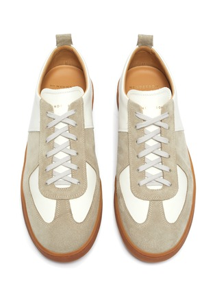 Detail View - Click To Enlarge - HENDERSON - Benoit gum sole leather sneakers