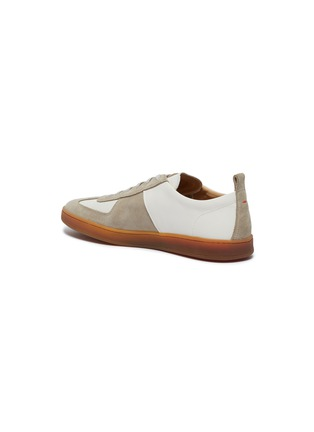 - HENDERSON - Benoit gum sole leather sneakers