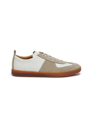 Main View - Click To Enlarge - HENDERSON - Benoit gum sole leather sneakers