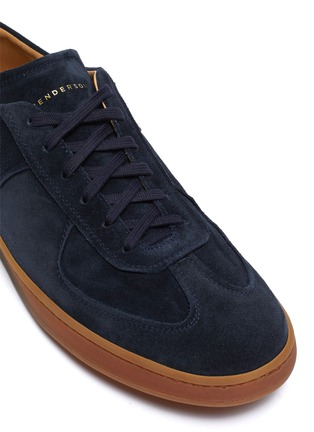 Detail View - Click To Enlarge - HENDERSON - Benoit gum sole suede sneakers