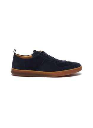 Main View - Click To Enlarge - HENDERSON - Benoit gum sole suede sneakers