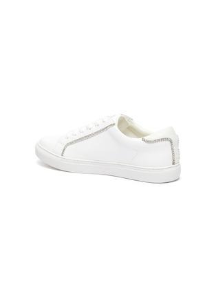 - PEDDER RED - Jovi crystal trim sneakers