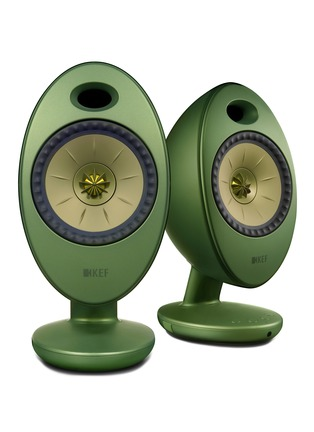 Main View - Click To Enlarge - KEF - EGG Duo wireless music system – Green