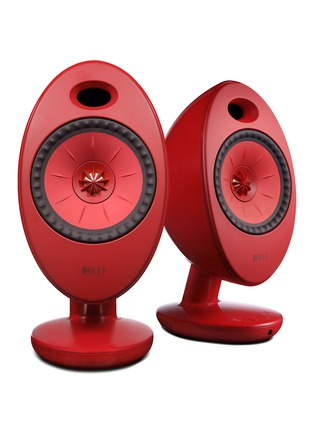 Main View - Click To Enlarge - KEF - EGG Duo wireless music system – Red