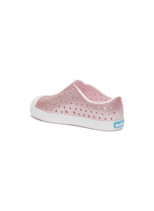 Detail View - Click To Enlarge - NATIVE - Jefferson perforated kids slip-on sneakers