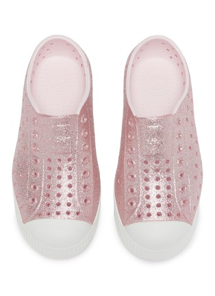 Figure View - Click To Enlarge - NATIVE - Jefferson perforated kids slip-on sneakers
