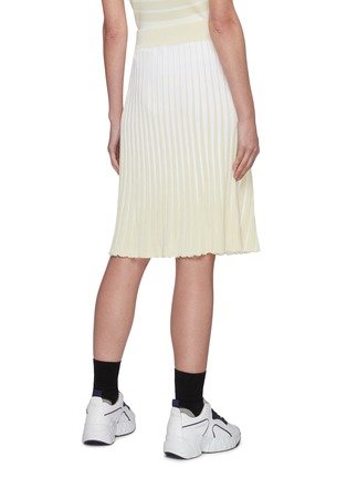 Back View - Click To Enlarge - PH5 - Stratton pleated midi skirt