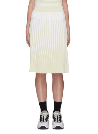 Main View - Click To Enlarge - PH5 - Stratton pleated midi skirt