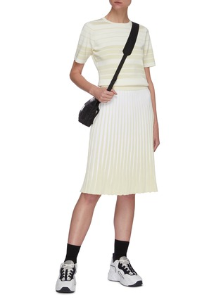 Figure View - Click To Enlarge - PH5 - Stratton pleated midi skirt