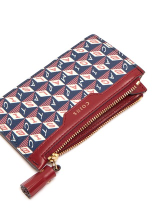 Detail View - Click To Enlarge - ANYA HINDMARCH - I Am A Plastic Bag zip card case
