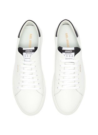 Figure View - Click To Enlarge - AXEL ARIGATO - 'Clean 90' contrast tab leather sneakers