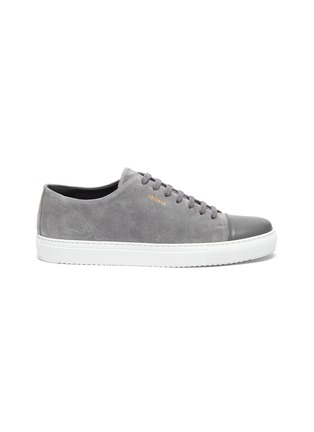 Main View - Click To Enlarge - AXEL ARIGATO - Cap toe suede leather sneakers
