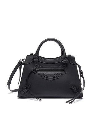 Main View - Click To Enlarge - BALENCIAGA - 'Neo Classic City Small' leather shoulder bag