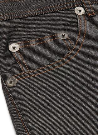 - NEIL BARRETT - Patch Pocket Seam Unwash Selvedge Jeans