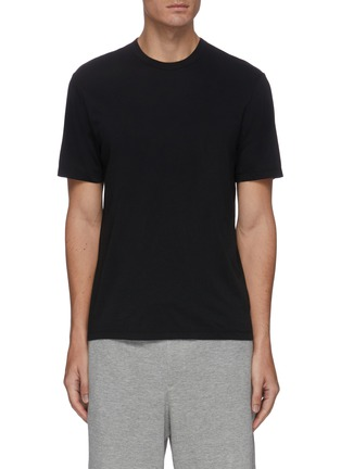 Main View - Click To Enlarge - JAMES PERSE - 'Luxe Lotus' crewneck cotton T-shirt