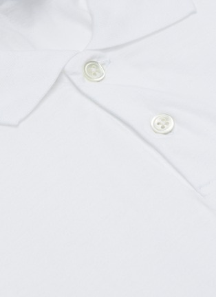 - JAMES PERSE - Elevated Lotus cotton polo shirt