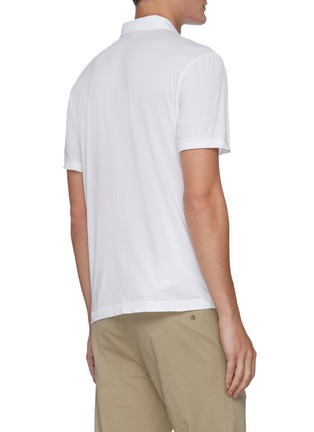 Back View - Click To Enlarge - JAMES PERSE - Elevated Lotus cotton polo shirt