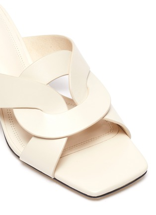 Detail View - Click To Enlarge - PEDDER RED - 'Albie' leather sandals
