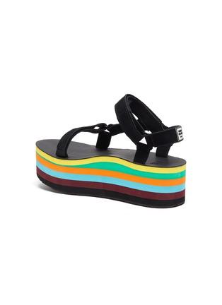 - TEVA - x Opening Ceremony Flatform Universal rainbow platform sandals