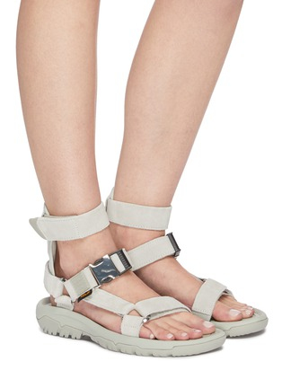 Figure View - Click To Enlarge - TEVA - x Opening Ceremony Hurricane buckle detail sandals