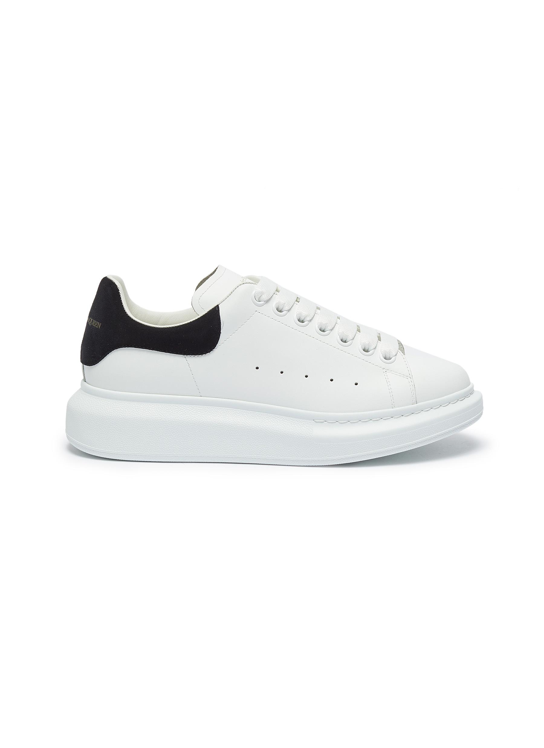 'Oversized sneaker' with contrasting tab