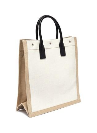Detail View - Click To Enlarge - SAINT LAURENT - 'Noe Rive Gauche N/S' logo tote bag