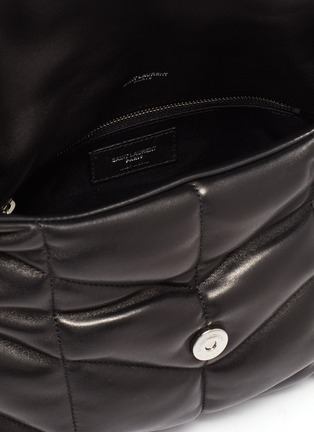 Detail View - Click To Enlarge - SAINT LAURENT - 'LouLou Small' puffer quilted leather bag