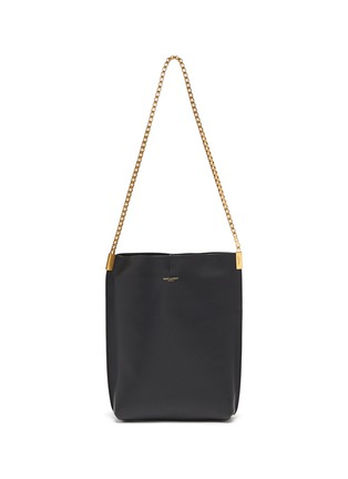 Main View - Click To Enlarge - SAINT LAURENT - Chain strap leather hobo bag