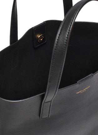Detail View - Click To Enlarge - SAINT LAURENT - 'Toy' leather shopping tote bag