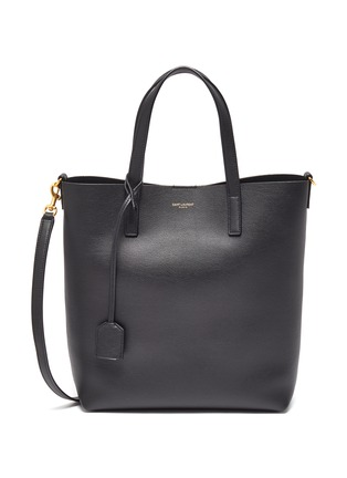 Main View - Click To Enlarge - SAINT LAURENT - 'Toy' leather shopping tote bag