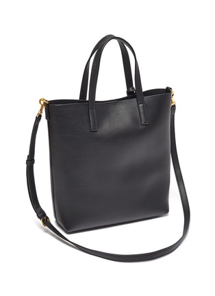 Figure View - Click To Enlarge - SAINT LAURENT - 'Toy' leather shopping tote bag
