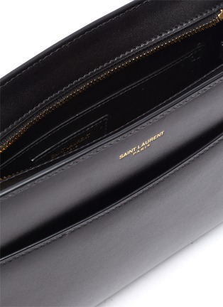 Detail View - Click To Enlarge - SAINT LAURENT - Calfskin leather shoulder bag