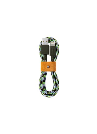 Main View - Click To Enlarge - NATIVE UNION - x Maison Kitsuné Belt Lightning Charging Cable