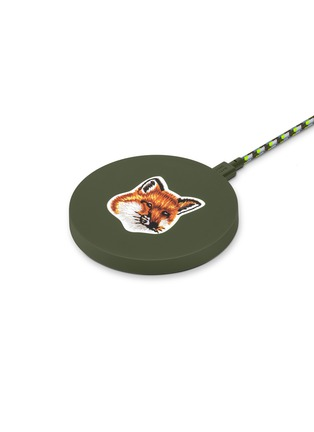 Main View - Click To Enlarge - NATIVE UNION - x Maison Kitsuné Drop Wireless Charging Pad – Green