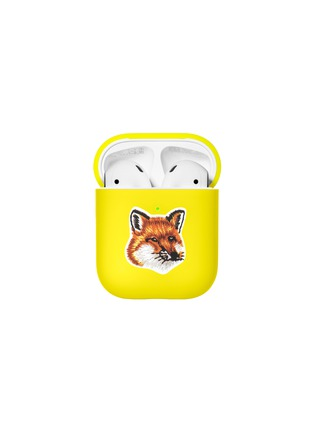 Main View - Click To Enlarge - NATIVE UNION - x Maison Kitsuné AirPods Case – Neon Yellow