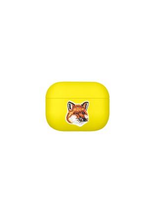 Main View - Click To Enlarge - NATIVE UNION - x Maison Kitsuné AirPods Pro Case – Neon Yellow