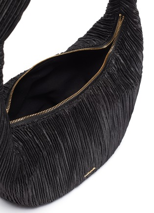 Detail View - Click To Enlarge - CULT GAIA - 'Mina' pleated knot handle bag