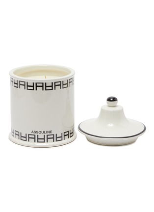 Main View - Click To Enlarge - ASSOULINE - Culture Lounge ceramic candle
