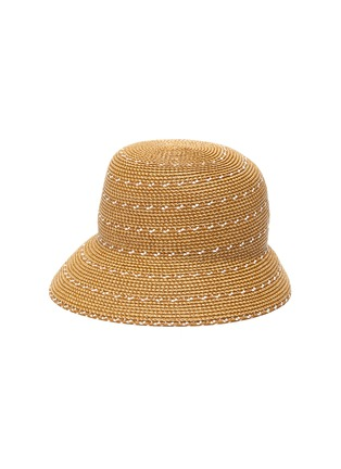 Main View - Click To Enlarge - ERIC JAVITS - 'Kimi' woven Squishee® bucket hat